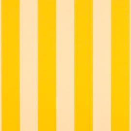 Sunbrella Shade - Beaufort Yellow/White 6 Bar - 5702-0000