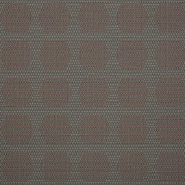 HBF Textiles - Dot Structure Gray & Red - 931-84