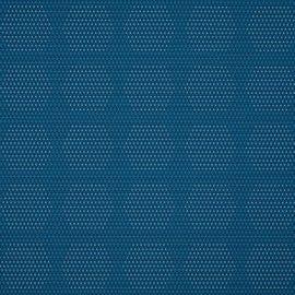 HBF Textiles - Dot Structure Aqua & White - 931-54