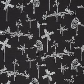 Mayer Fabrics - Whirligig Midnight - 431-006