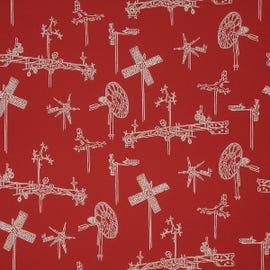 Mayer Fabrics - Whirligig Cherry - 431-001