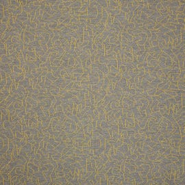 Fabricut Contract - Outline Yellow Grey - 9397402