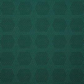 HBF Textiles - Dot Structure Dark Green & Navy - 931-67