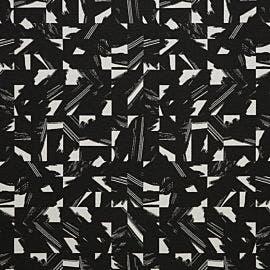 HBF Textiles - Cutout Mars Black - 946-90