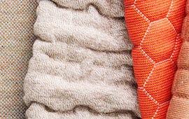 selection of sunbrella knit fabrics