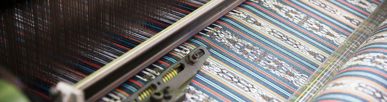 Weaving Sunbrella Fabric